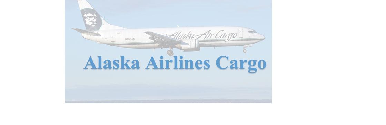 Take Advantage Of Alaska Airlines Cargo Services Ak Air