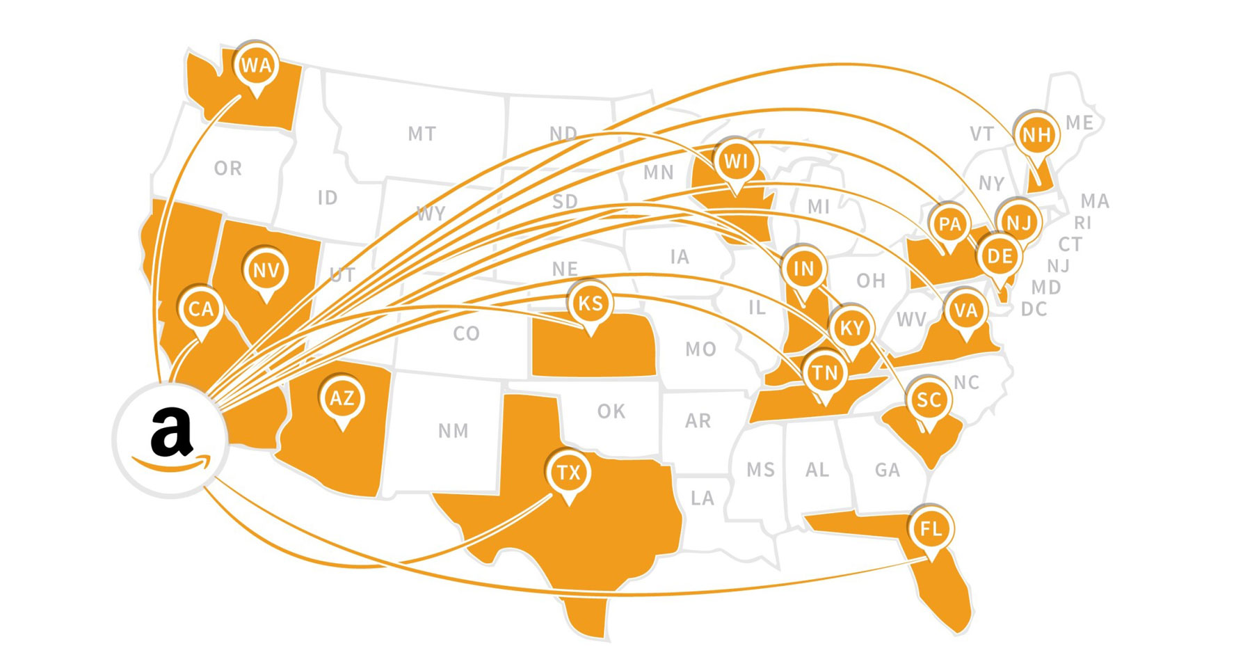 All Us Amazon Fba Warehouse Address Details Distribution Centers