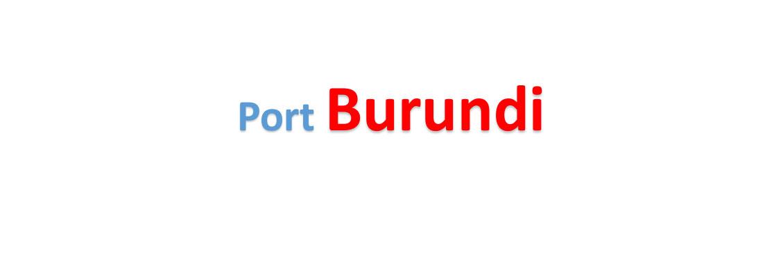 Burundi container sea port