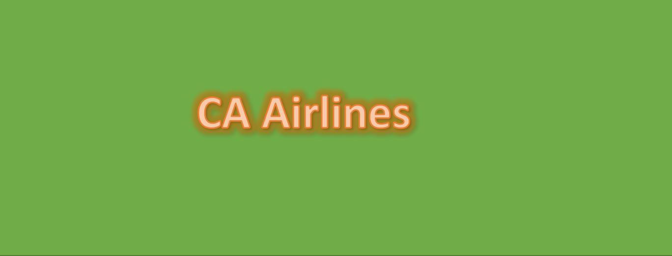 CA Airline Cargo