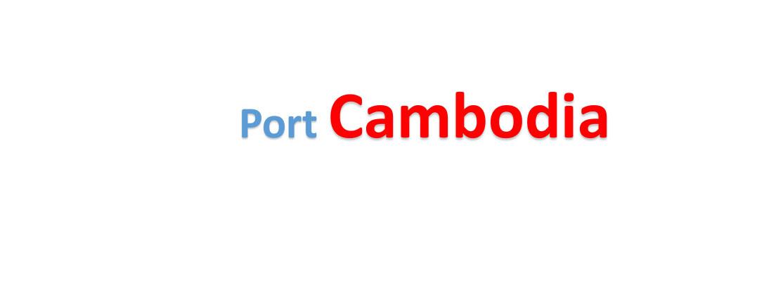 Cambodia container sea port