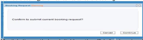 cosco booking confirm