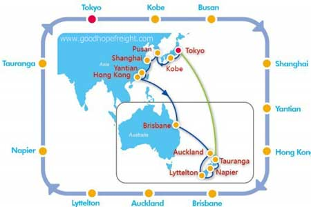 Cosco container tracking jkn to australia