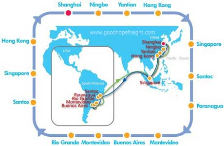 cosco sailing schedule point to point esa