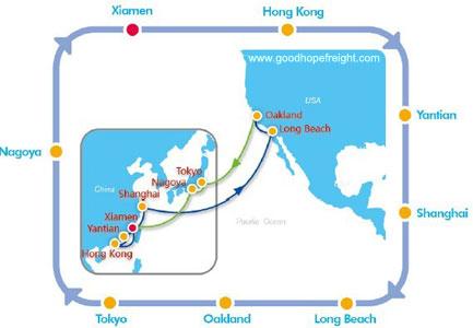 cosco group sea container vessel psw1