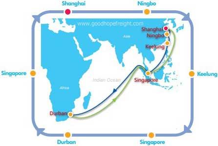 cosco tracking vessel
