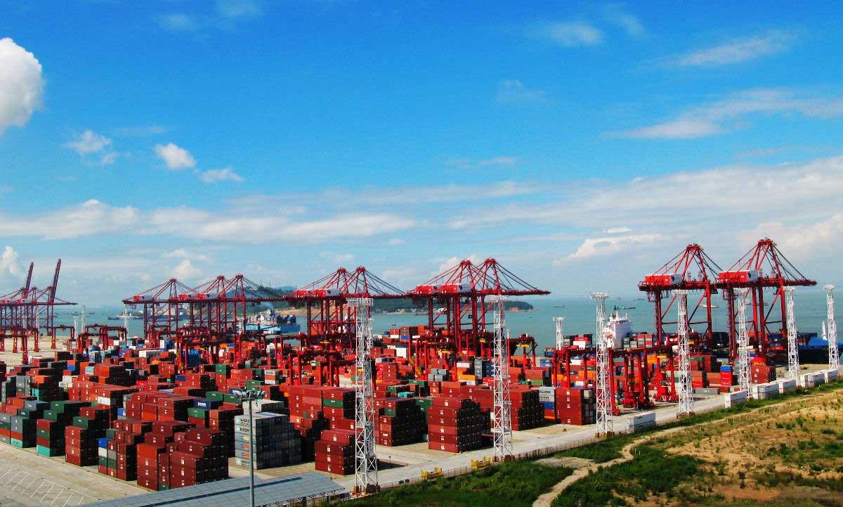 Ports Of Da Chan Bay Da Chan Bayport Map Da Chan