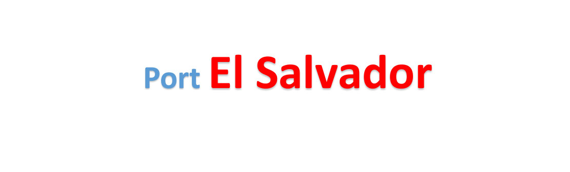 El Salvador sea port Container