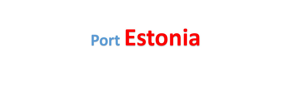 Estonia Sea port Container