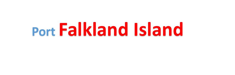 Malvinas Islands(Falkland Island) Sea port Container