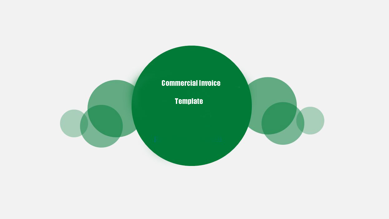 Commercial Invoice Standard Template Amazon FBA