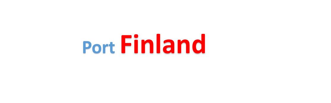 Finland Sea port Container