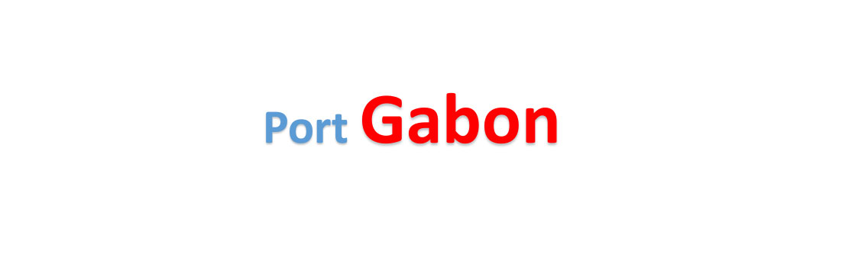 Gabon Sea port Container