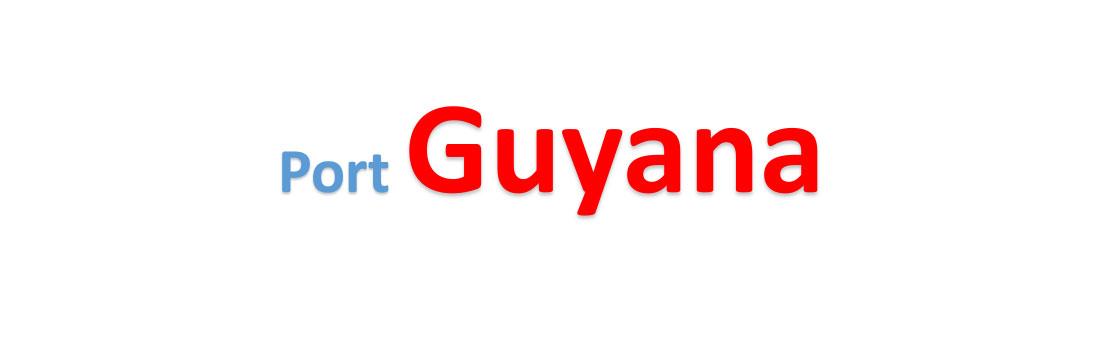 Guyana Sea port Container