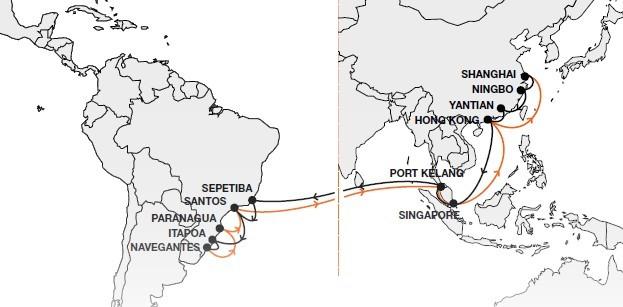 Markenqualität Ausverkauf im Angebot Hapag-Lloyd Schedules Vessel Tracking Latin America