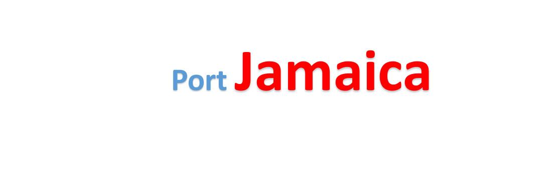 Jamaica Sea port Container