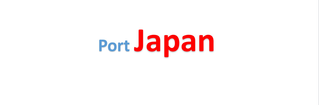 Japan Sea port Container