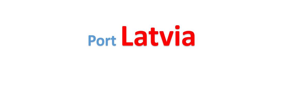 Latvia Sea port Container