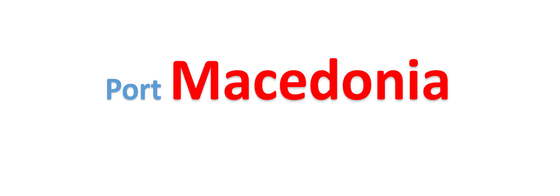 Macedonia Sea port Container