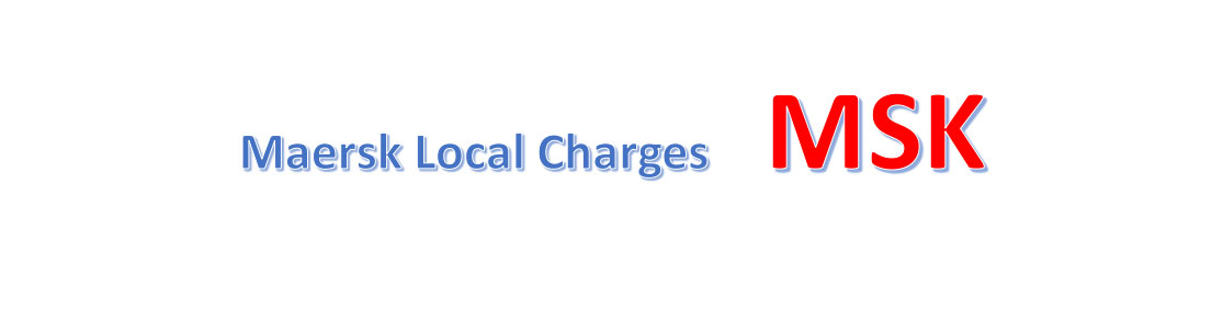 Maersk Local Charges in China