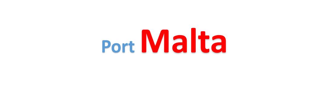 Malta Sea port Container