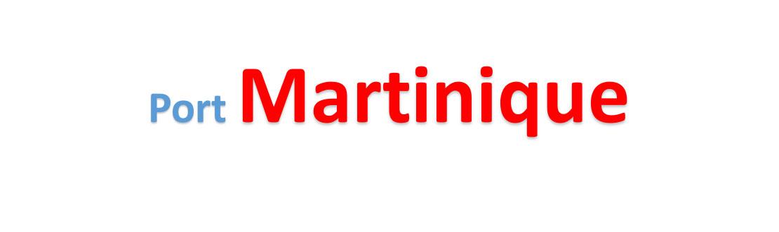 Martinique Sea port Container