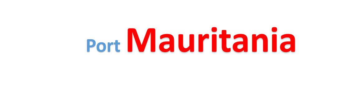 Mauritania Sea port Container