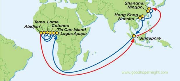 Hope Island Shipping Schedule