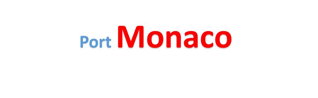 Monaco Sea port Container