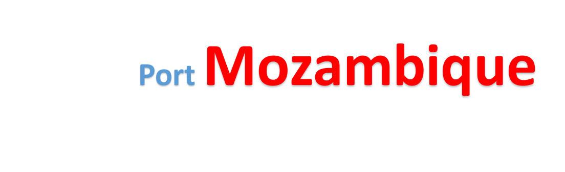 Mozambique Sea port Container