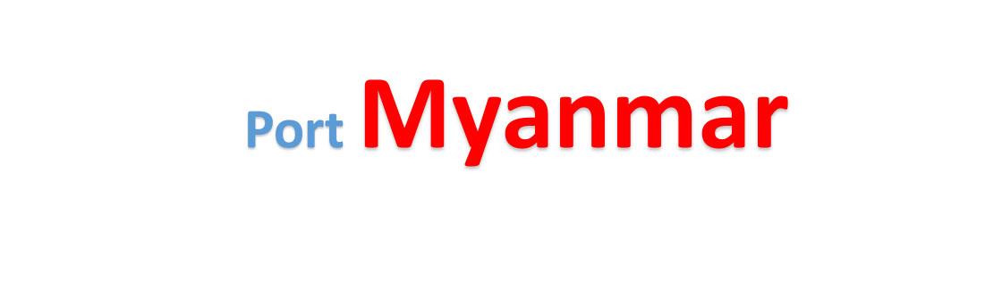 Myanmar container sea port