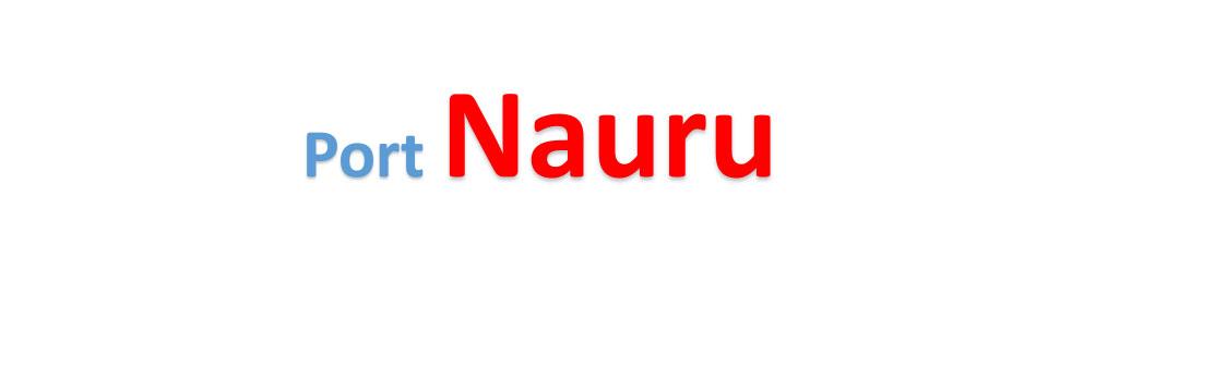 Nauru Sea port Container