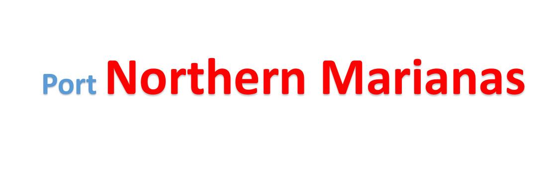 Northern Marianas Sea port Container