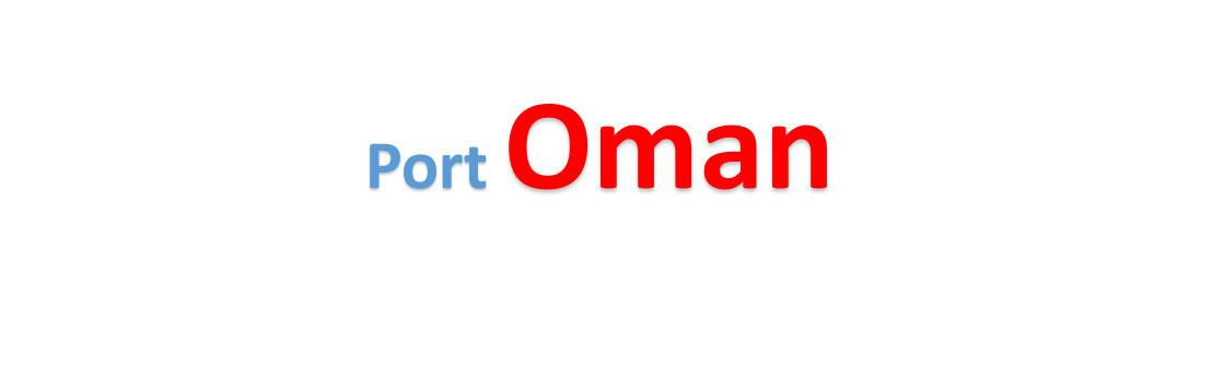 Oman Sea port Container