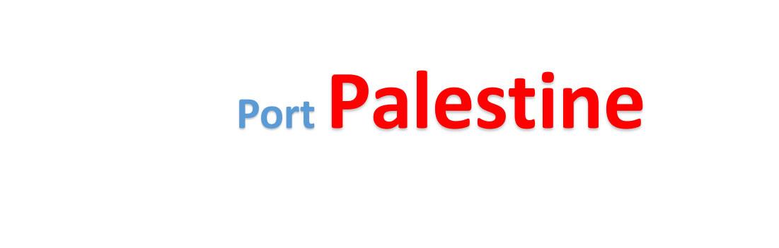 Palestine Sea port Container