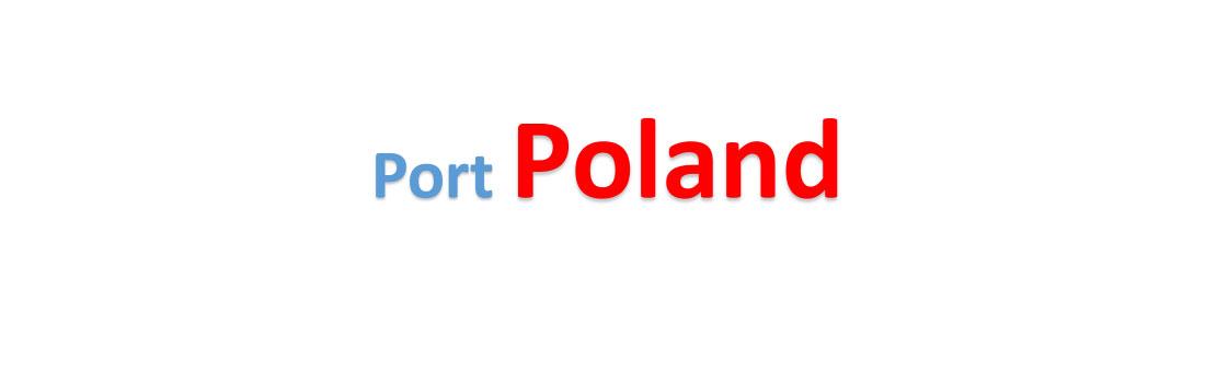 Poland Sea port Container