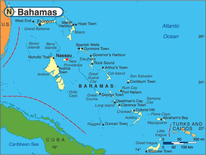 ports of atlantic ocean slands
