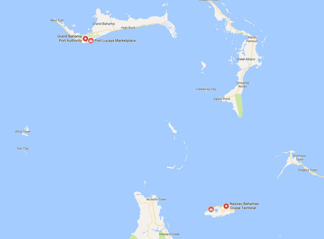 ports of Bahamas