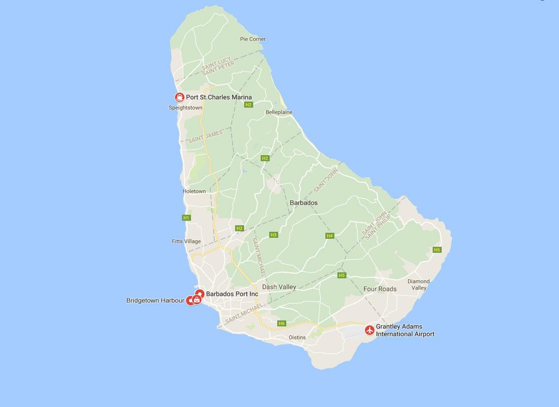 ports of Barbados
