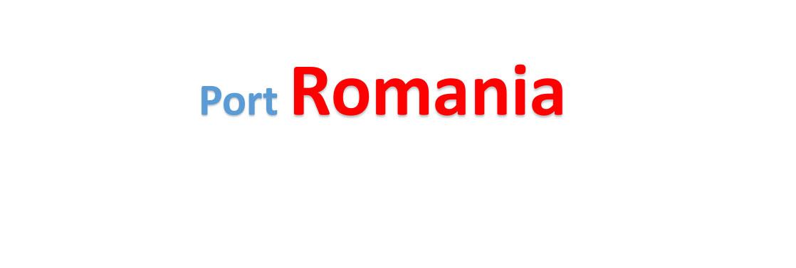 Romania Sea port Container