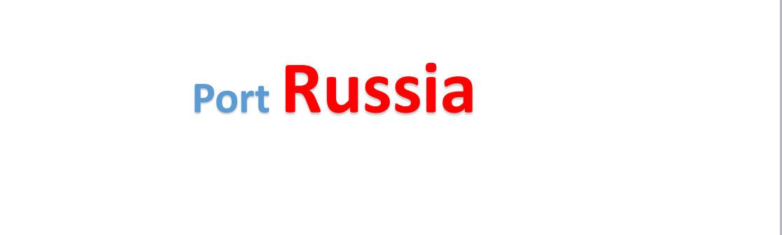 Russia Sea port Container