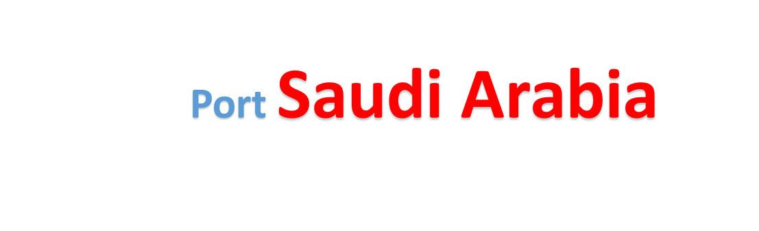 Saudi Arabia Sea port Container