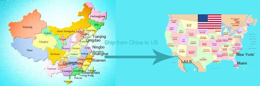 Ship From China To Us