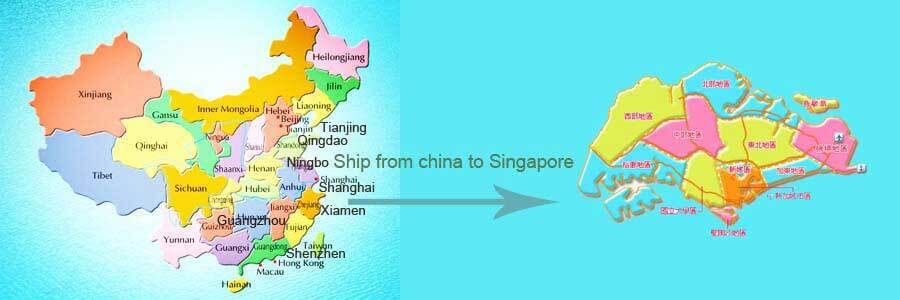shipping from china to singapore