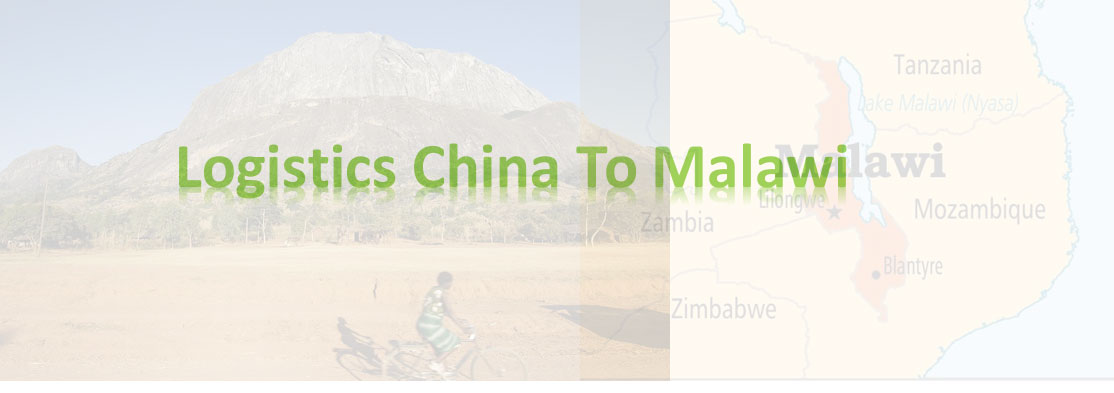 shipping from China to malawi