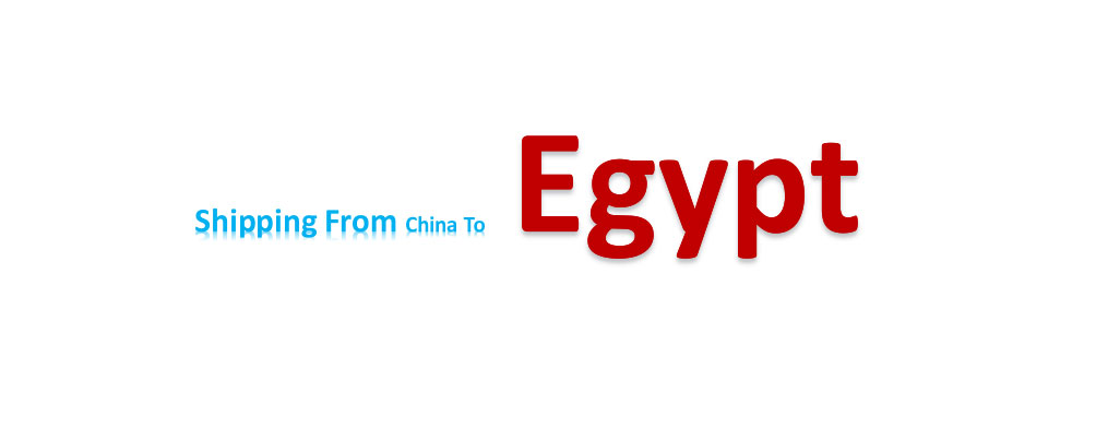 shipping from China to Egypt