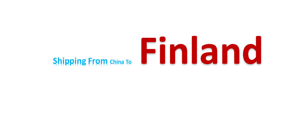 shipping from China to Finland