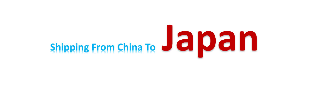 shipping from China to japan