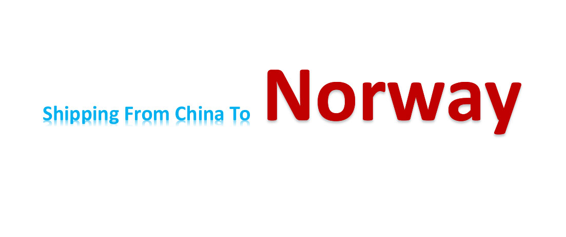 shipping from China to Norway