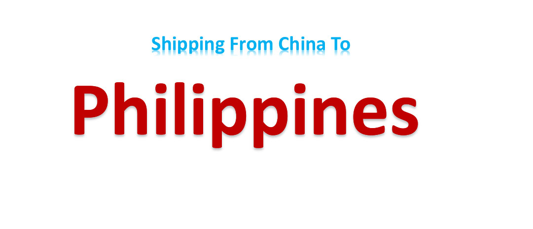 shipping from China to Philippines